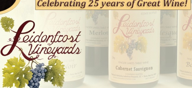 Specialty Wines of Leidenfrost Vineyards